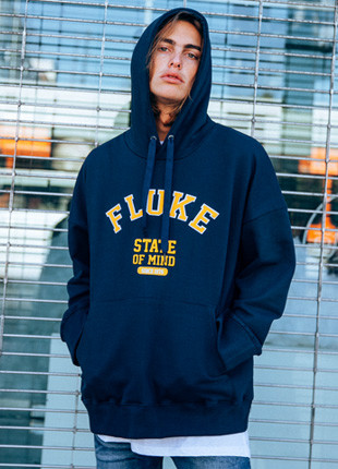 Fluke State-Over Hooded T-Shirt FHT018C276