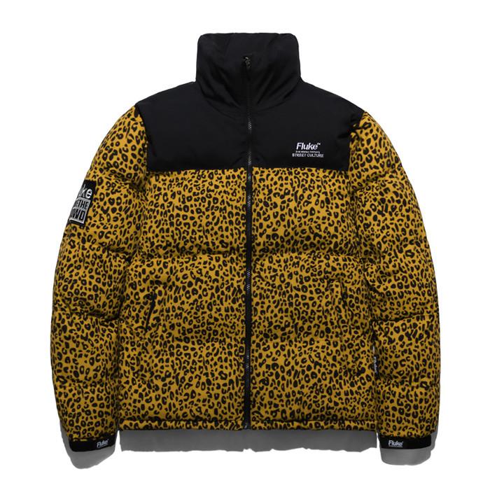 Fluke Leopard Padding jumper FP1031